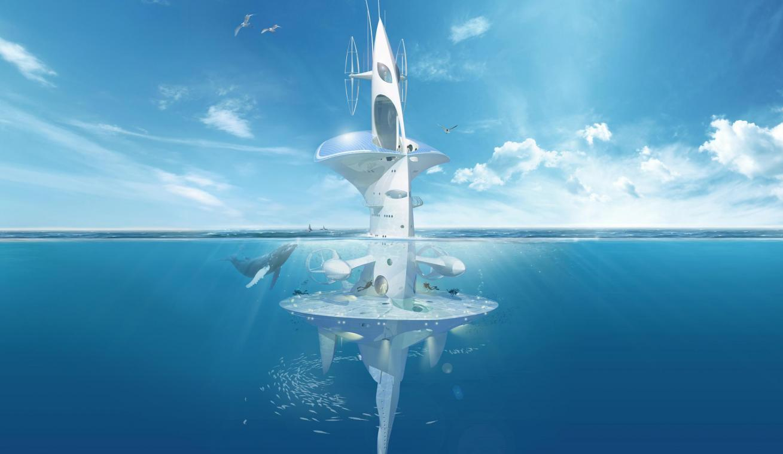 La future maison sous-marine nomade