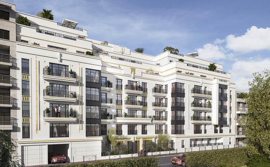 Appartement à Levallois-Perret