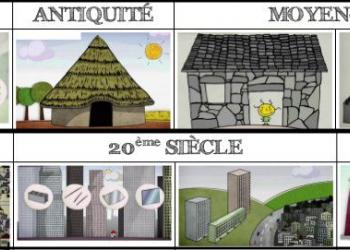 L'évolution des habitations de la préhistoire à aujourd'hui