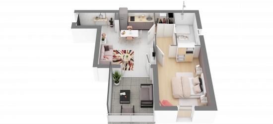 Appartement LE TRIOLET